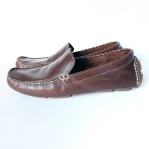 Cole Haan Brown Leather Loafers Size 7B